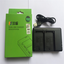 Li-ion battery charger/Two seats For Sony NP-F970 F550 F750 NP-FM50 FM55H FM500H VBD1 VBD2 for Panasonic Lithium Battery Charger