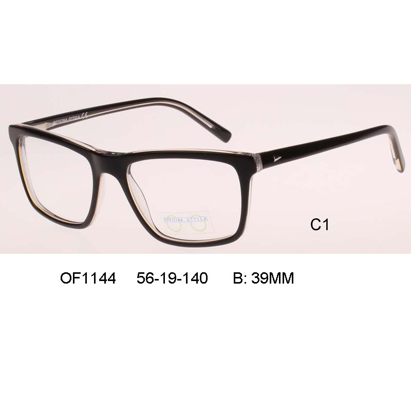 32054555e8 square clear glasses man business big size Eyeglass Male Optical Frame  Prescription Spectacle Marco de lentes opticos full rim-in Eyewear Frames  from ...