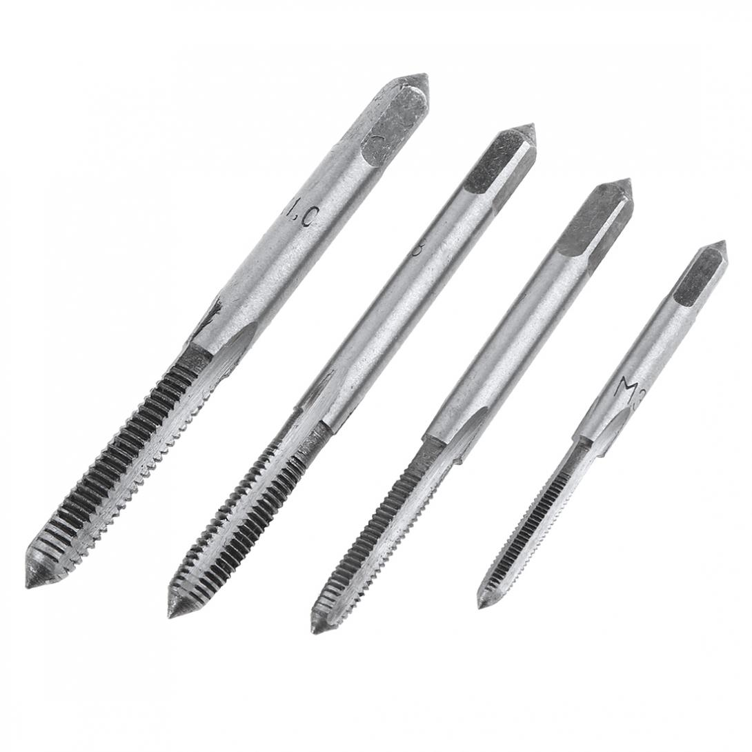 Image 5 - 20PCS Alloy Steel Tap & Die Set with Small Tap Twisted Hand Tools and 1/16 1/2 Inch NC Screw Thread Plugs Taps Hand Screw Taps-in Tap & Die from Tools