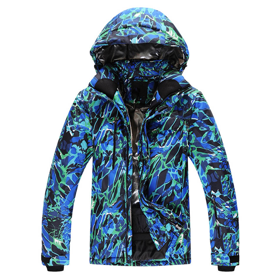 -35 man and Woman Snow jackets 10K waterproof windproof outdoor sports Snowboarding jacket skiing Coat high quality winter wear