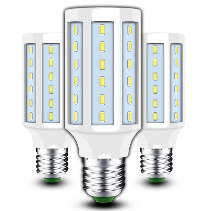 LED bulb E27 lamp e14 led corn bulb SMD5730 led chip 5---60W AC90-260V SMD 5730 led GU10 spotlight B22 lamp light chandelier