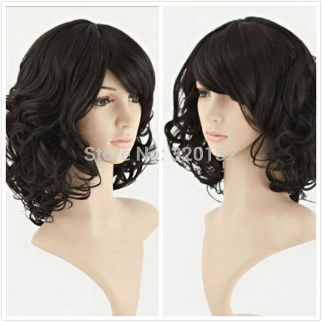 Short Curly Wave Healthy Hair Cosplay Party Costume Wig Revlon Body