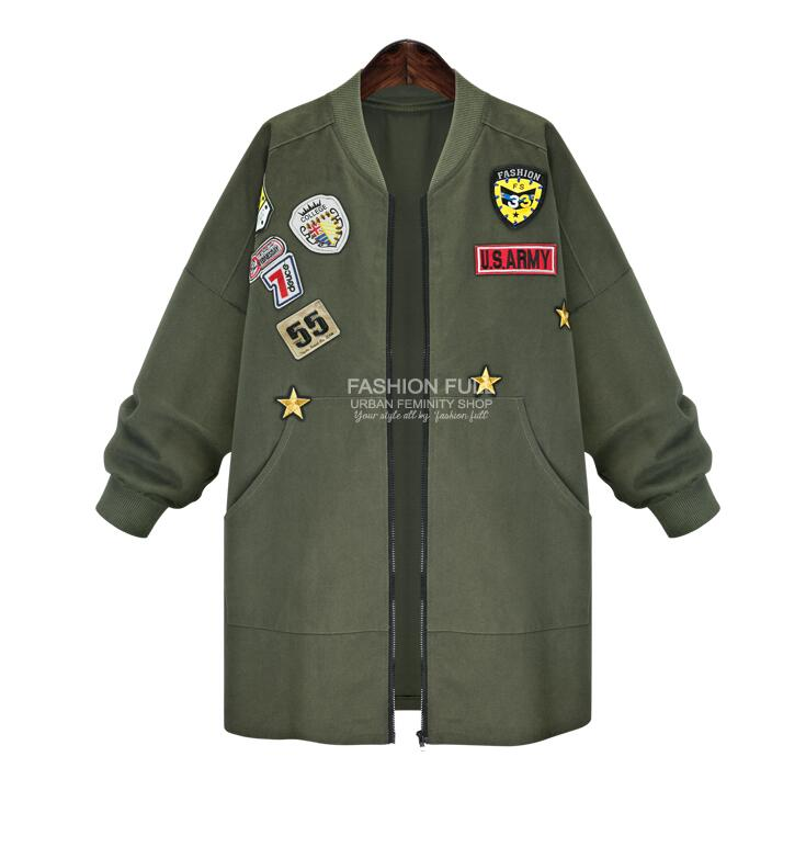 Long Military Coat Promotion-Shop for Promotional Long Military ...