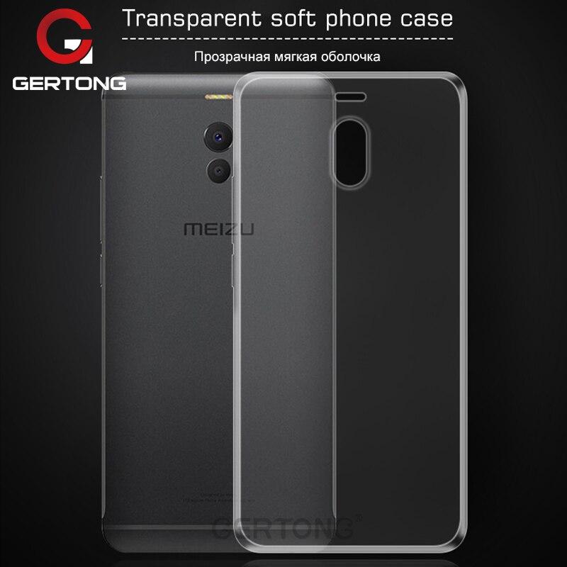 GerTong силиконовый чехол для телефона для Meizu M6 Примечание M3 M5 Примечание M2 мини M5C M5S MX6 MX5 Pro 6 7 Plus U20 U10 прозрачный Fundas Coque