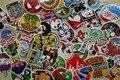 100 Unidades Pegatinas Monopatín Pegatina de Graffiti Portátil Equipaje Etiquetas Del Coche de la porción de la mezcla Etiqueta de Navidad Regalo Del Niño