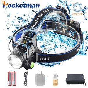 Pockeman 8000LM T6/L2 Led Head