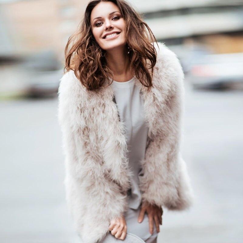 Blush branco x-long mulher 2017 real casaco
