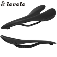 Ievele Bicycle Full Carbon Saddle Road MTB Cycling Bike Carbon Fiber Seat Saddles Cushion 91g Bicycle