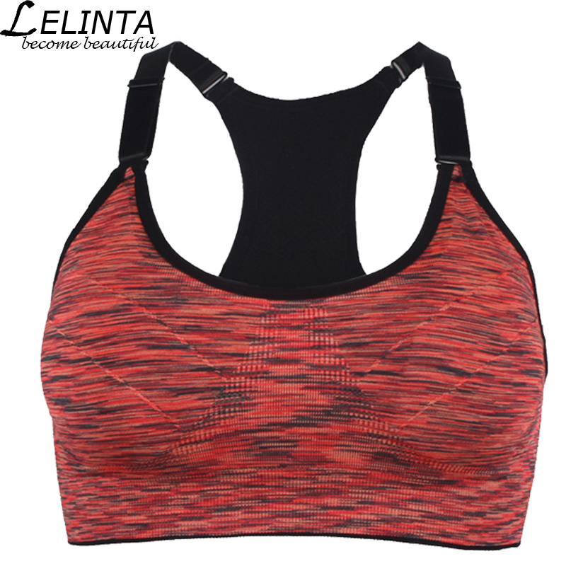 5Colors Women Sports Bra Top Yoga Fitness Wireless Running