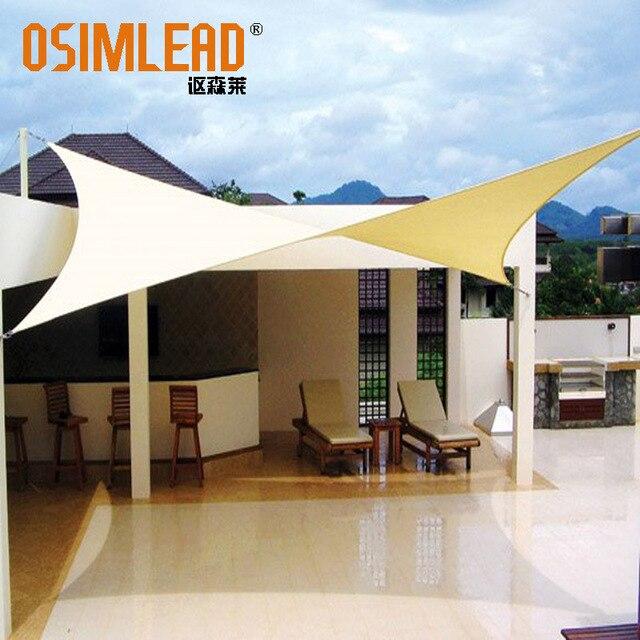 4m X 6m Rectangle Shade Tarps Cloth New Rectangular Uv Waterproof Sun Sail In Sails Nets From Home Garden On