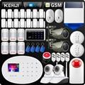 KERUI W20 Nuovo Modello di Pannello di Tocco di WiFi Senza Fili di Sicurezza di GSM Antifurto Sistema di Allarme APP RFID Carta di Wifi Macchina Fotografica del IP di Smart presa di Sirena
