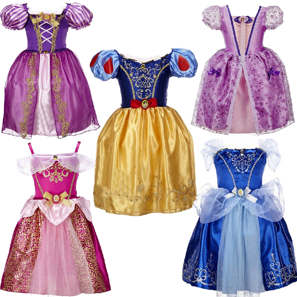 Подробнее о Hot Girls Cinderella Princess Dress Children Girl Sofia Party Wedding Dresses Kids Elsa Anna Clothes Snow White Cosplay Costume cosplay girl dress princess sofia dress children girls costume party dress kids tutu dresses 3 7 years old baby costumes