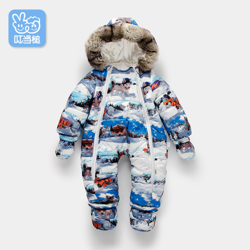 Jingle Mallet Boys Girls Warm Rompers autumn/winter thicken cotton padded children's Outerwear смартфон huawei honor 8 lite синий