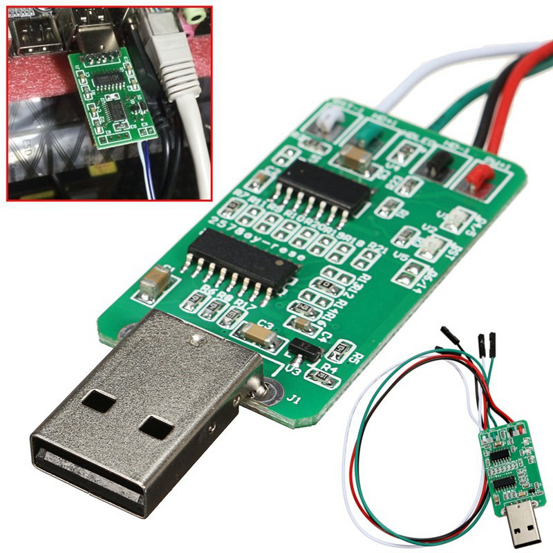 Hardware WatchDog USB For Mining Rig Unattended Operation Crash Auto Recover Server 24 hours Computer Sensor Switch