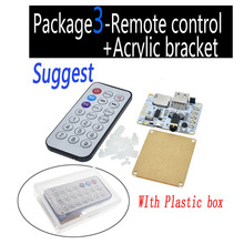 V5.0 V4.2 Bluetooth Audio Receiver board with USB TF card Slot decoding playback preamp output 5V Wireless Stereo Music Module 1pcs bluetooth 4 0 audio receiver board wireless stereo sound module
