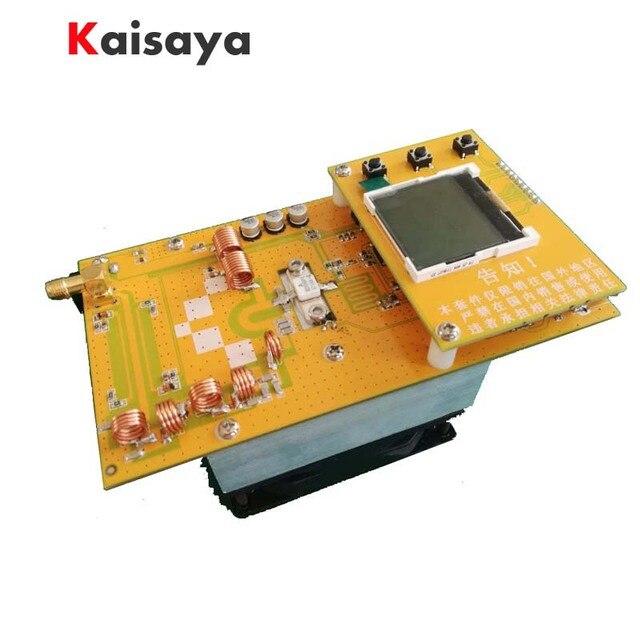 30W PLL Stereo FM Transmitter 76M 108MHz 12V Digital LED Radio Station module with heatsink fan D4 005