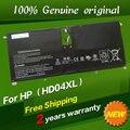 Бесплатная доставка HD04XL Оригинальный Аккумулятор Для ноутбука Для HP Envy XT 13-2000eg 13-2021tu 13-2113TU 13-2120tu 13-ef2003 13-b000
