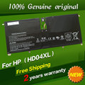 Free shipping HD04XL Original laptop Battery For HP Envy XT 13-2000eg 13-2021tu 13-2113TU 13-2120tu 13-ef2003 13-b000