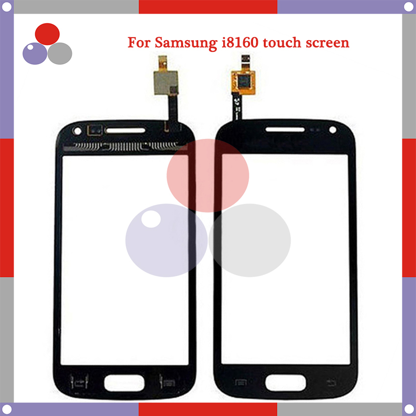 10pcs/lot High Quality For Samsung Galaxy Ace 2 GT i8160 i8160 Touch Screen Panel Sensor Digitizer Outer Glass Lens