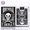1 Cubierta Skull Volver Cubierta De Bicicleta Naipes Poker Tamaño USPCC Limitada Edición Sellada Tarjeta Trucos de Magia Magia