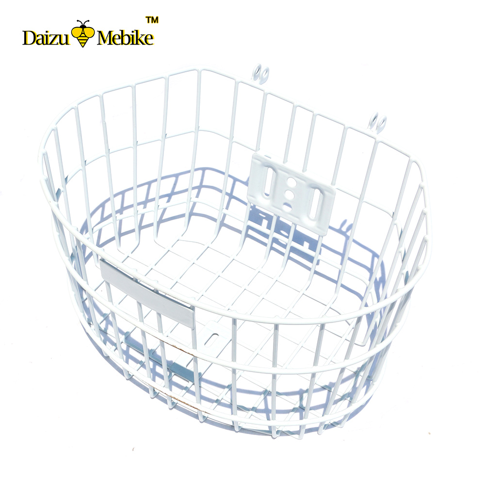 New Arrivals Bicycle Basket Cycling Steel White for City Bike Outdoor Sport GIANT Mountain Girl Bag Panniers Bycicle Accessories shefik bajmak analysis of optimal flow characteristics