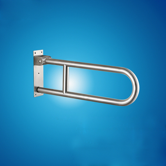 MAXSWAN Stainless Steel Folding Grab Bar Disability Grab Rail ...