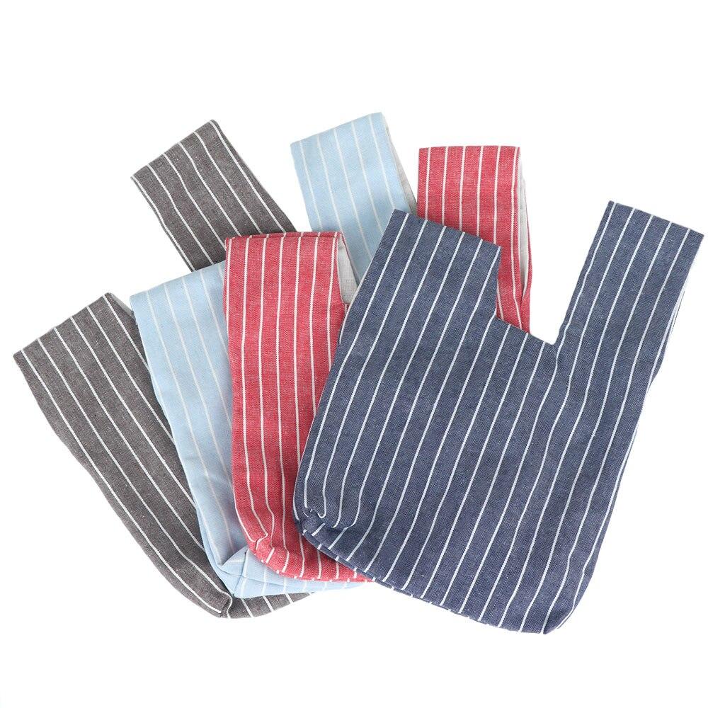 1 Pcs Heißer Verkauf Japanischen Stil Knoten Handgelenk Tasche Mode Kreative Handtasche Schlüssel Telefon Beutel Wandern Baumwolle Futter Tasche Geschenke Für Freund