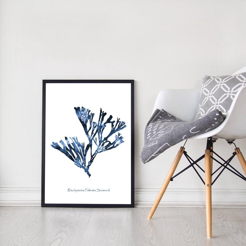 Sea Coral Canvas Print Living Room Decor
