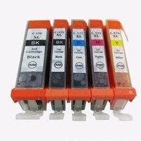 Substituição PGI 570PGBK PGI570 PGI 570 XL Cartuchos de Tinta Para Canon Pixma PGI 570 PGI 570XL CLI 571 MG7750 MG7751 MG7752 MG7753|ink cartridge|ink cartridge for canon|cartridge for canon -
