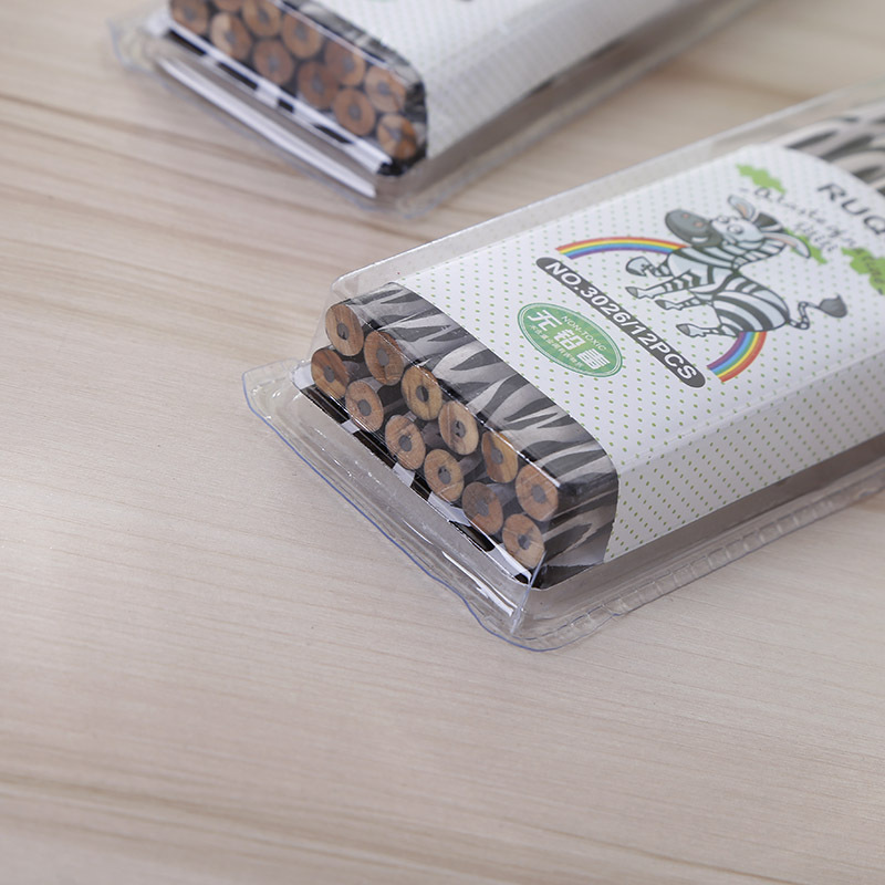 Image 5 - 72pcs kawaii wooden pencil lot creative zebra pattern pencil for school office writing supplies HB standard pencil wholesaleStandard Pencils   -