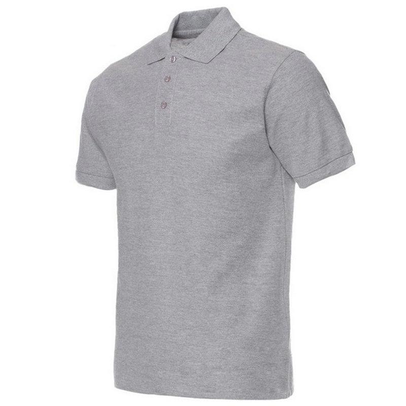 Moške polo majice, moške polne barve, polo majice Camisa Masculina, - Moška oblačila - Fotografija 2
