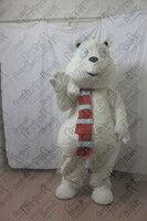 paw polar bear mascot costumes snow white bear costumes