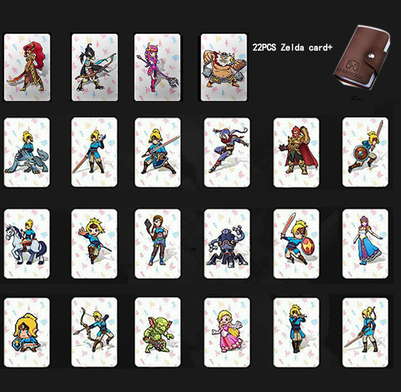 Compatible 22 NFC 215 Game Cards For Botw Switch Zelda Breath Wild Super Mario Smash Cart Bros Odyddey Splatoon 2 Kriby Ultimate(China)
