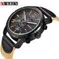 Curren relógios homens top marca de moda relógio de quartzo relógio masculino relogio masculino analógico esportes dos homens do exército ocasional 8194