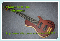 Classic Edition 5 Strings Electric Guitar Bass Fodera Flame Maple Top Chinese Ash Body from China