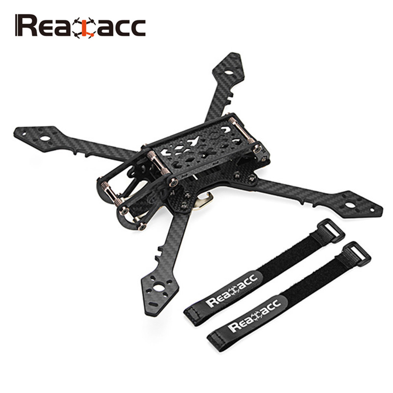 Realacc Real3 250mm Wheelbase 4mm Arm Carbon Fiber Frame Kit for RC Drone FPV Racing 130g Multirotor Quad DIY Spare Parts Accs suprace 215 215mm wheelbase 4mm arm carbon fiber fpv racing drone frame kit 88g for rc racer fpv quadcopter diy spare parts