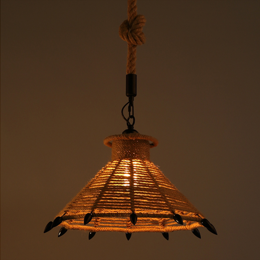 A09 American Village loft pendant lamp retro hemp rope pendant lights creative loft pendant lamp american village loft pendant lamp retro hemp rope pendant lights creative loft pendant lamp