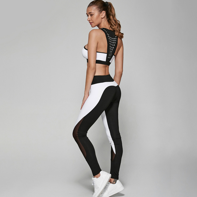 2 Pieces Women Fitness Quick Dry Workout Set