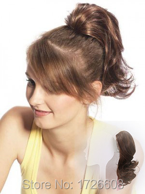 New Hairstyle 7 Colors Free Shipping Cute Short Hair Ponytail Hair
