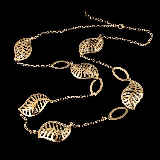 toucheart на заказ длинная цепочка дизайнерское ожерелье с полыми фотография
