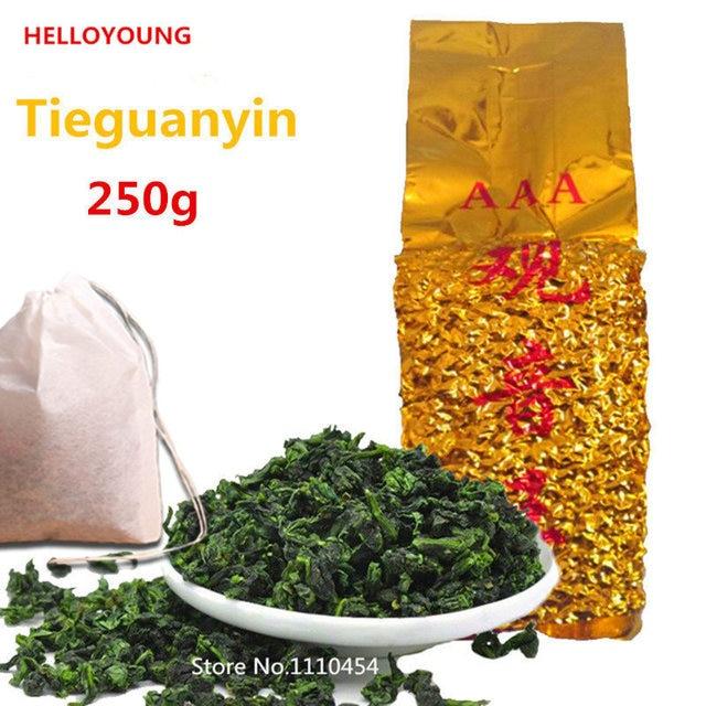 Бесплатная доставка, продвижение 250 г Китайский Анкси Tieguanyin чай, свежий Китай Зеленый Tikuanyin чай, натуральный органический Здоровье Улун