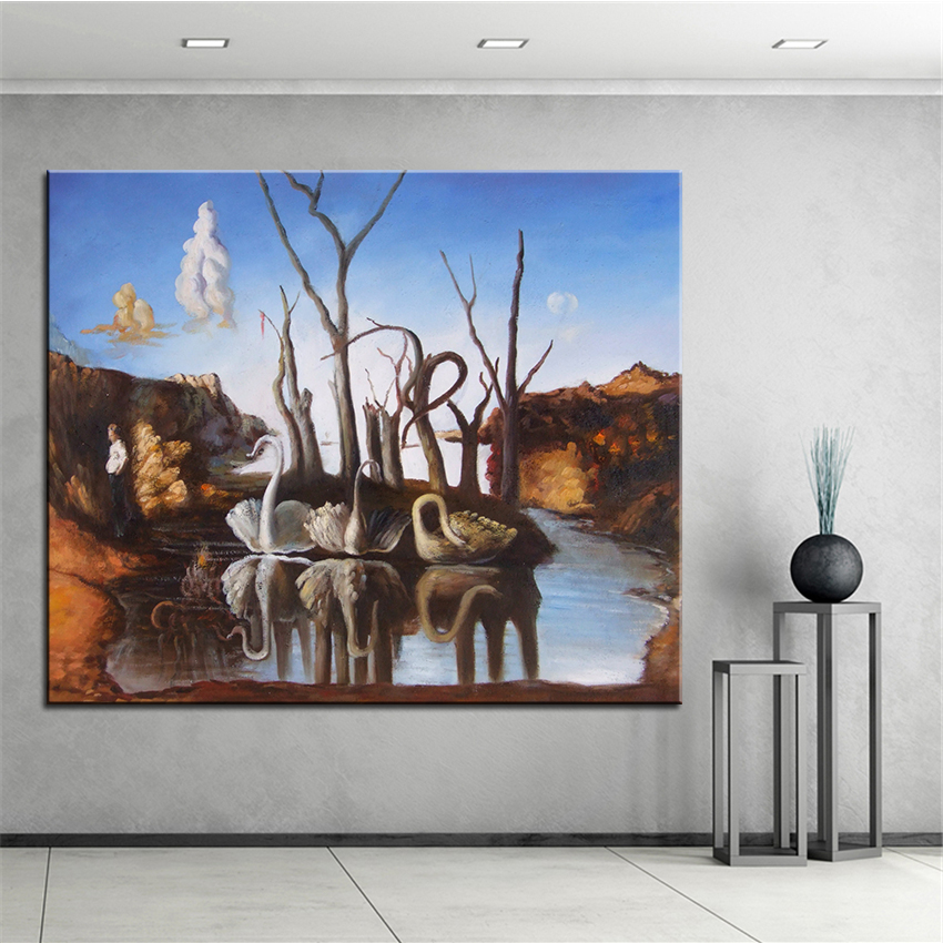Extra Large Wall Painting Of Outdoor Scener Home Office