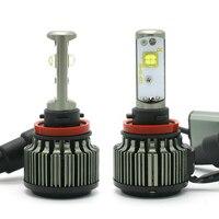 V16 H4 LED H1 H3 H7 H11 880 H13 9005 9006 Hi Lo 80W 9600LM EMC