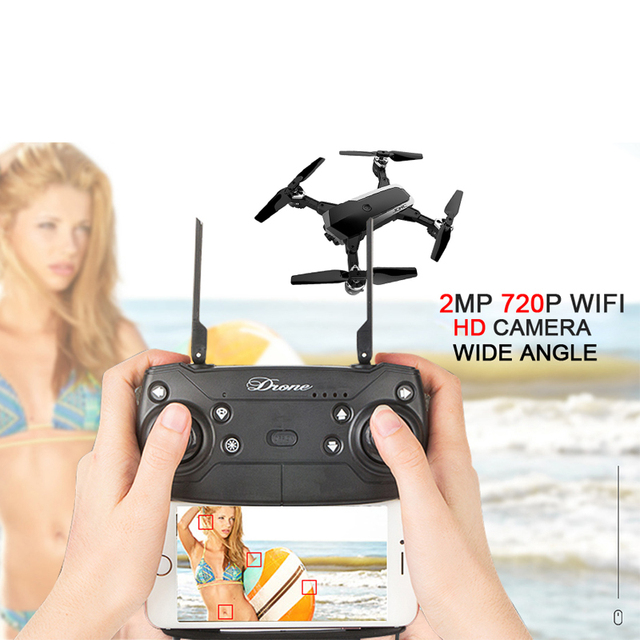 1080P WIFI 5MP helicopter rc drones with camera hd drone profissional fpv quadcopter aircraft luminous fun toy for boys YH18