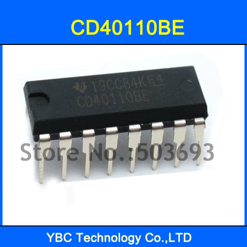 20PCS CD40110 CD40110UBE 4000 CMOS Decade Up Down Counter/Latch/Display  Driver DIP 16-in Integrated Circuits from Electronic Components & Supplies  on