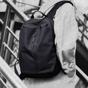 Image 1 - جديد وصول USB شحن محمول على ظهره 15.6 بوصة الرجال الحقائب المدرسية للمراهقين كلية حقيبة السفر الذكور Mochilas M808