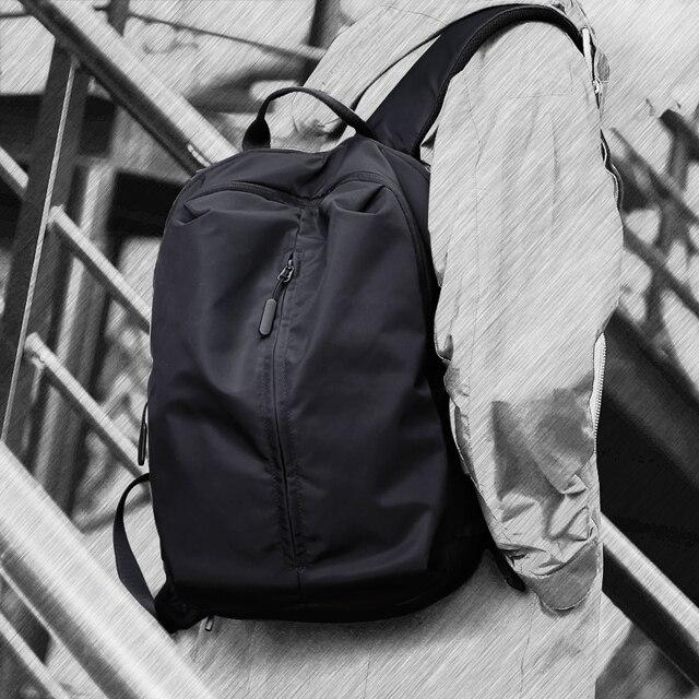 جديد وصول USB شحن محمول على ظهره 15.6 بوصة الرجال الحقائب المدرسية للمراهقين كلية حقيبة السفر الذكور Mochilas M808