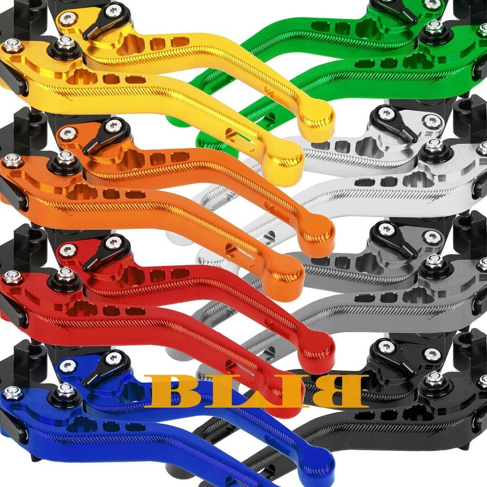ФОТО 10 Colors For Yamaha XS850 XJ900 F XV1000/XV1100 Virago Motorcycle Adjustable 3D Short Levers CNC Aluminum Brake Clutch Levers