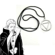 Naruto Akatsuki Pendant necklace Cosplay Hidan Prop back Cos Anime