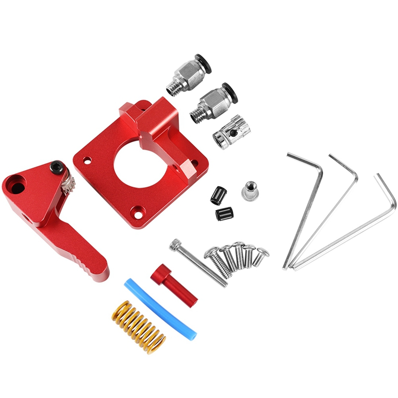 Image 2 - Btech Dual Drive Extruder With Motor For Cr 10/Cr 10S/Tornado 3D Printer Upgrade Aluminum Dual Gear Left Hand Dual Extruder(Le-in 3D Printer Parts & Accessories from Computer & Office